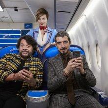 Modalità aereo: un'immagine promozionale del film