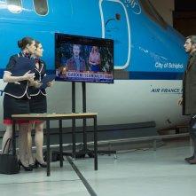 Modalità aereo: una scena del film con Paolo Ruffini