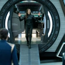 Stark Trek Discovery: Michelle Yeoh in una scena dell'episodio Saints of Imperfection