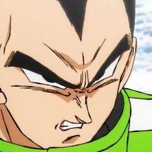 Dragon Ball Super: Broly - Il Film: Vegeta in un momento del film