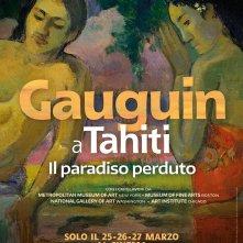 Locandina di Gauguin a Tahiti - Il Paradiso perduto