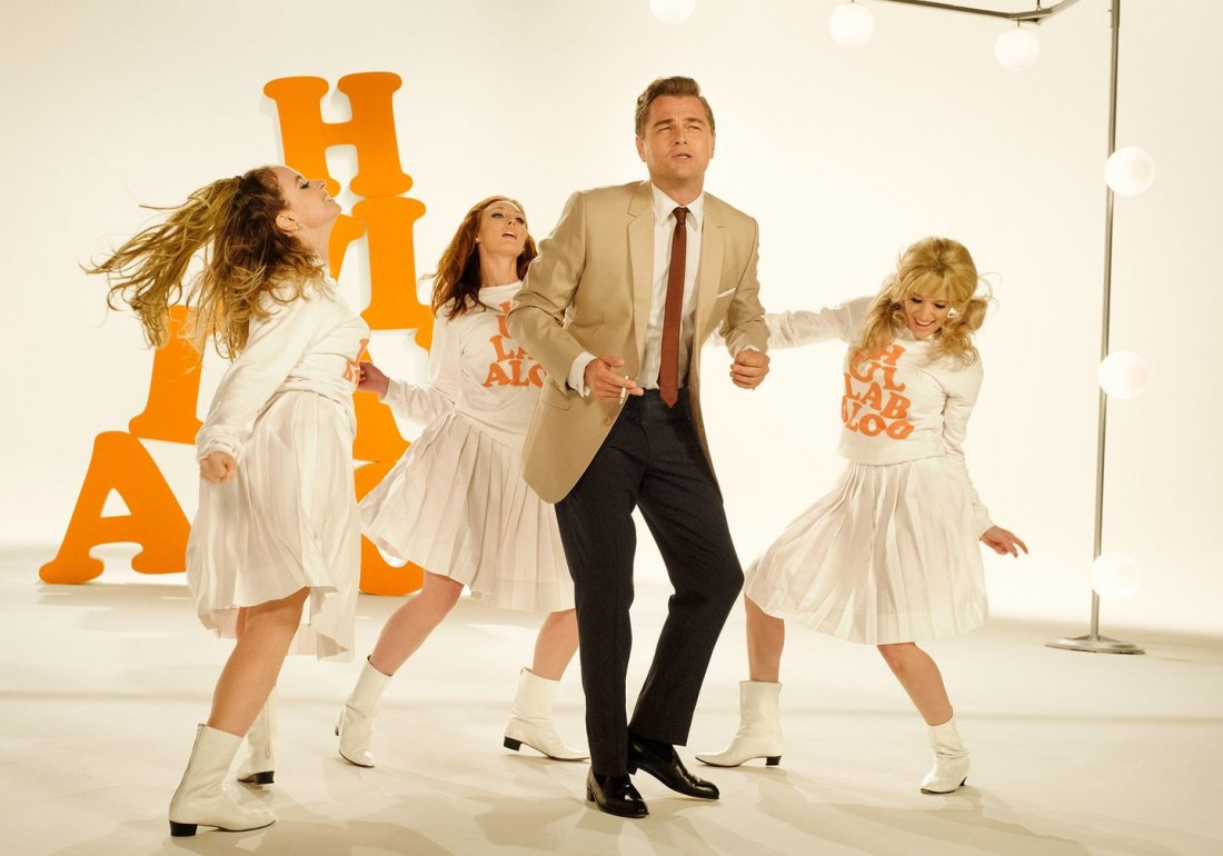 Once Upon A Time In Hollywood Dicaprio Dancing