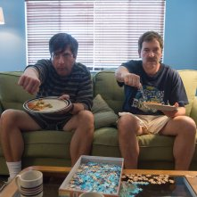 Paddleton: Mark Duplass con Ray Romano in una scena