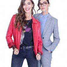 Teddy: Stella Egitto in una foto promozionale della serie, interpreta le gemelle Viola e Marta
