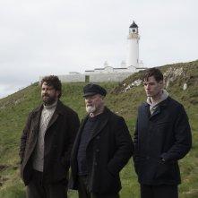 The Vanishing - Il mistero del faro: una scena con Gerard Butler, Peter Mullan, Connor Swindells