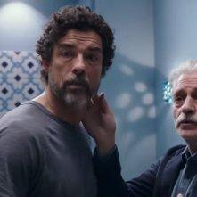 Croce e Delizia: Fabrizio Bentivoglio e Alessandro Gassman in una scena