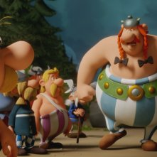 Asterix e il segreto della pozione magica: una scena del film animato