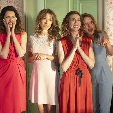 Non sposate le mie figlie! 2: Élodie Fontan, Frédérique Bel, Émilie Caen, Julia Piaton in una scena del film