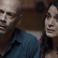 La fuga: Donatella Finocchiaro e Filippo Negro in un scena del film
