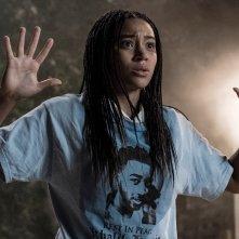 Il coraggio della verità: Amandla Stenberg in una scena del film