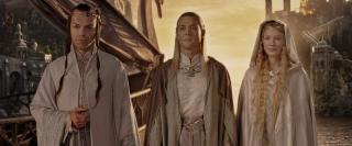 Elfi Elrond Celeborn E Galadriel