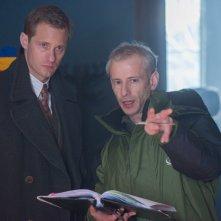 La conseguenza: Alexander Skarsgård sul set del film