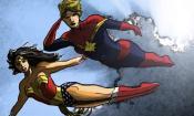 Captain Marvel: Wonder Woman si congratula con Brie Larson!