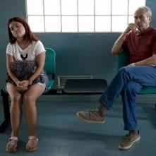 Dafne: Carolina Raspanti durante una scena del film