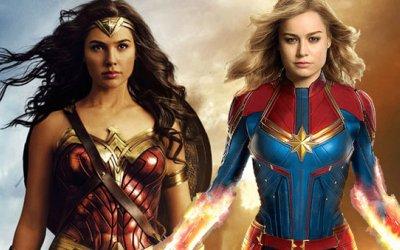 Captain Marvel e Wonder Woman: tra rabbia e grazia, due supereroine allo specchio