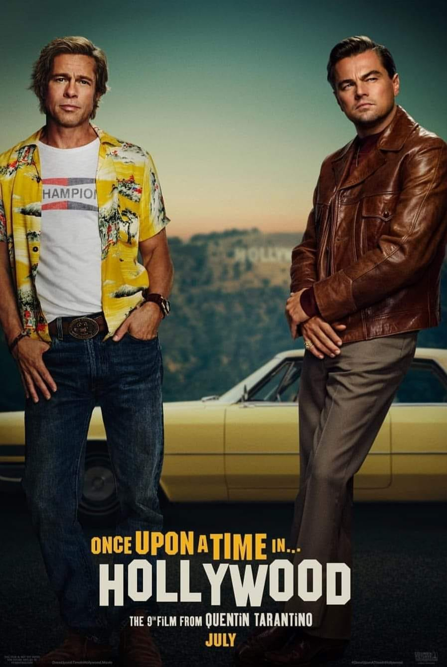 Risultati immagini per once upon a time in hollywood poster