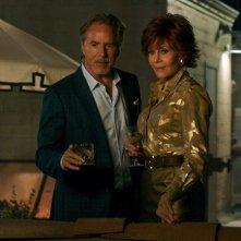 Book Club - Tutto può succedere: Jane Fonda e Don Johnson in una scena
