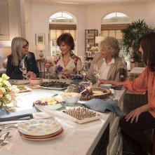 Book Club - Tutto può succedere: Mary Steenburgen, Diane Keaton, Jane Fonda e Candice Bergen in una scena