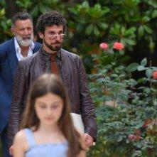 Dolceroma: Una scena con Luca Barbareschi nel film di Fabio Resinaro