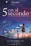 5 centimetri al secondo: il poster italiano