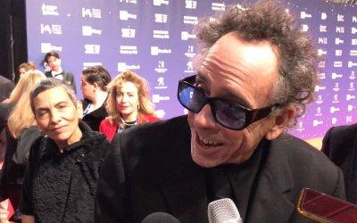 """Tim Burton ai David 2019: """"Trasformate lo svantaggio in punto di forza"""""""