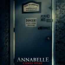 Locandina di Annabelle Comes Home