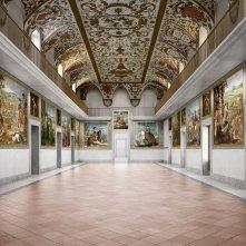 Il Museo del Prado - La Corte delle meraviglie: una scena all'interno del museo