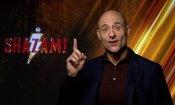 """Mark Strong, villain di Shazam!: """"Scegliete con cura le vostre parole e passate la magia!"""""""