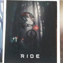 Le card e, al centro, la cover del booklet, del blu-ray di Ride