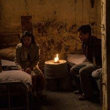 The Terror: Derek Mio e Miki Ishikawa in una scena della stagione 2