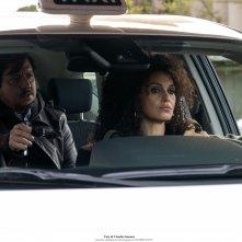 Ma cosa ci dice il cervello: Paola Cortellesi e Ricky Memphis in una scena del film