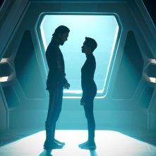 Star Trek: Discovery,  Shazad Latif e Sonequa Martin-Green nell'episodio Such Sweet Sorrow