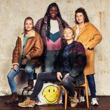 Le Invisibili: Noémie Lvovsky, Corinne Masiero, Audrey Lamy, Déborah Lukumuena in un'immagine promozionale