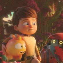 A Spasso con Willy: Willy e i suoi amici in una scena del film