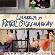 L'alfabeto di Peter Greenaway: la locandina italiana