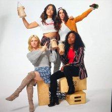 Someone Great: Brittany Snow, Gina Rodriguez, DeWanda Wise, Jennifer Kaytin Robinson in una foto promozionale