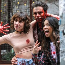 Someone Great: Gina Rodriguez e David Granados in una scena
