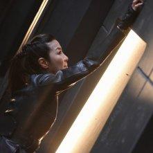 Star Trek: Discovery: Michelle Yeoh in una scena del finale di stagione