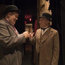 Stanlio e Ollio: John C. Reilly e Steve Coogan durante una scena