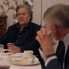 The Brink - Sull'orlo dell'abisso: Stephen K. Bannon in una sequenza del documentario