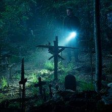Pet Sematary: Jason Clarke in un momento del film
