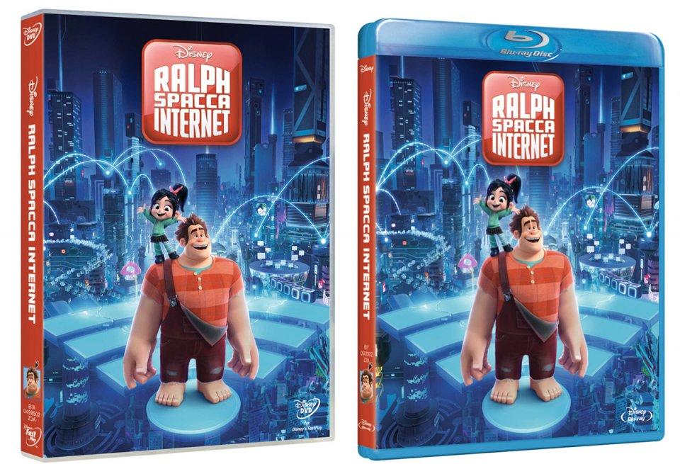 ralph spacca internet dvd  Ralph spacca Internet arriva in DVD e Blu-ray: ecco cover ed extra ...