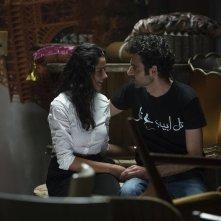 Tutti pazzi a Tel Aviv: Kais Nashif durante un momento del film