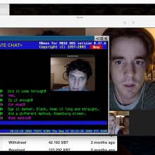 Unfriended - Dark Web: Connor Del Rio e Colin Woodell durante una scena del film