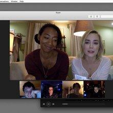 Unfriended - Dark Web: Betty Gabriel, Rebecca Rittenhouse in una scena del film