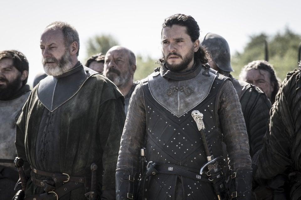 Jon Snow Davos
