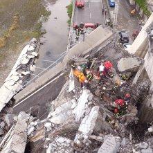 Il ponte di Genova: Cronologia di un disastro, una sequenza del documentario