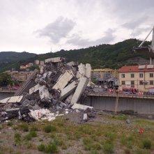Il ponte di Genova: Cronologia di un disastro, un'immagine del documentario