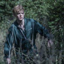 The Rain: Lucas Lynggaard Tønnesen durante una scena della seconda stagione