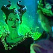 Maleficent: Mistress of Evil, Angelina Jolie affronta Elle Fanning